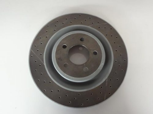 2 x Brake Disc Brembo Front 355 x 32 MM Genuine Ford made by Brembo with 4 Spot Pads