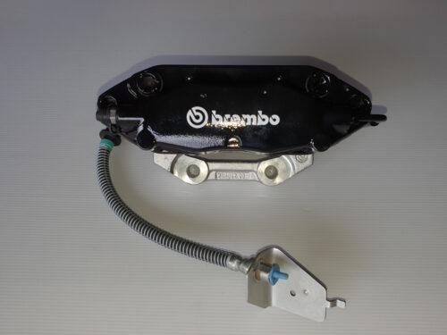 Brembo 4 piston black caliper, Brembo , Brembo calipers , Brembo brakes , brembo Brake pads